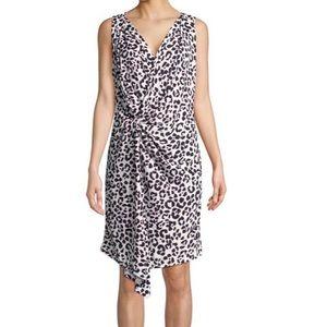 Ellen Tracy Leopard print dress